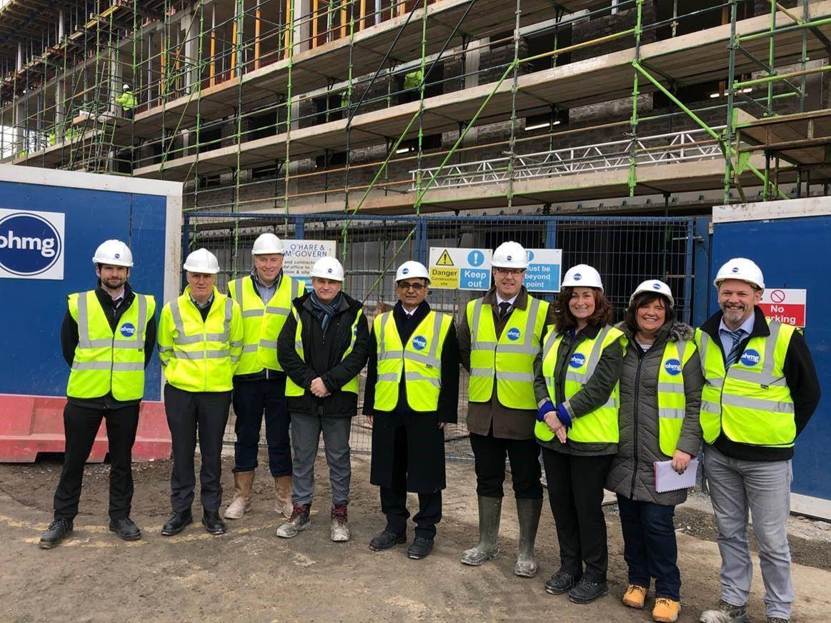 Health Trust Chiefs Get Tour of New Lisburn Centre Featured Image