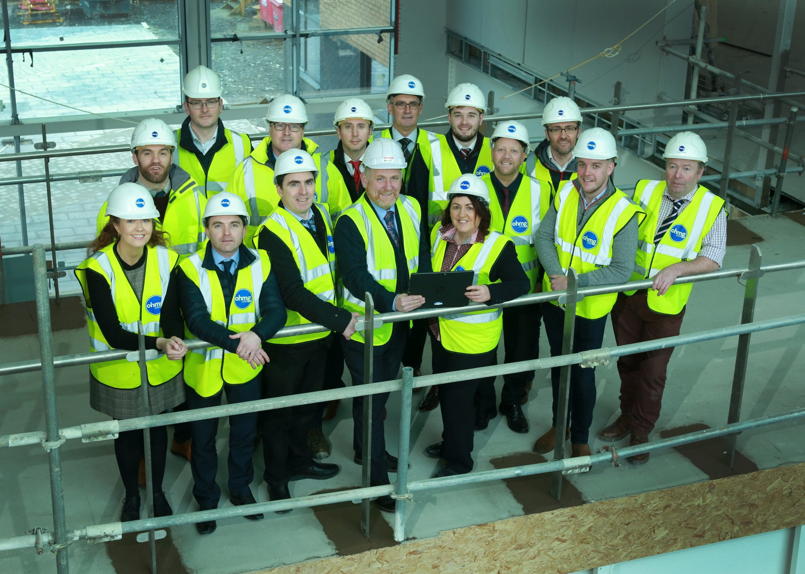 On Site Education – OHMG and Belfast Met partner to deliver BIM training Featured Image
